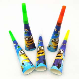 MINIONS Party Horn (Pack of 5)