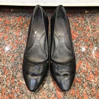 Aerosoles黑色專櫃高跟鞋(免運)