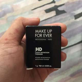 Make up forever powder
