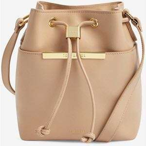 Ted Baker Leather Bucket Bag
