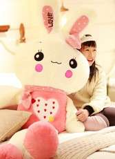 Love Rabbit 1.5metre long (Pink+Green)
