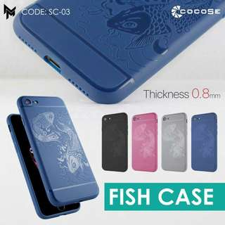 Softcase fish iphone 7