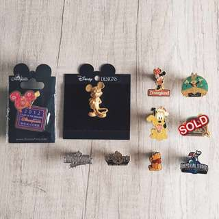 Themed parks metal badges