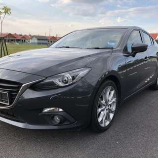 MAZDA 3 2014 Cbu JAPAN High Spec.
