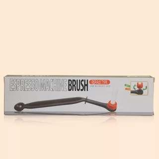 Espresso machine group head washing brush