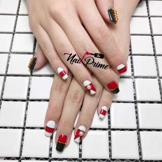 Gel Mani $38 ( excluding nailart )