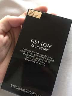 REVLON colorstay two-way powder foundation