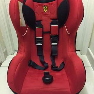 Ferrari car seat (新舊如圖)🈹