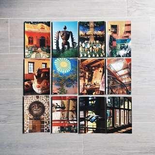 Ghibli Museum postcards set of 12