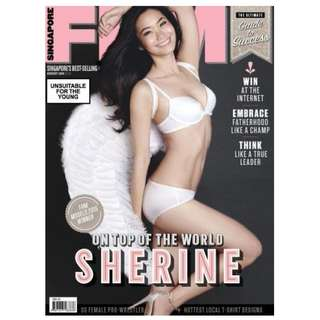 FHM Singapore - August 2015 Issue