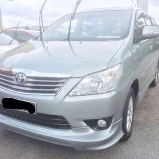 TOYOTA INNOVA G 2.0 AT 2012