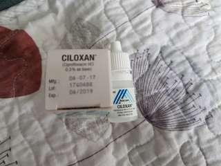 CILOXAN ear or eye drop