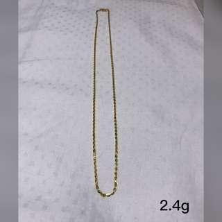 916/ 22k Gold Necklace