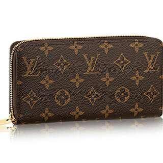 Louis Vuitton LV M42616經典拉鍊長夾 專櫃27000