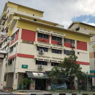 Tampines Central 1 Block 503 HDB 5-Room Golden Location In Tampines For Sale