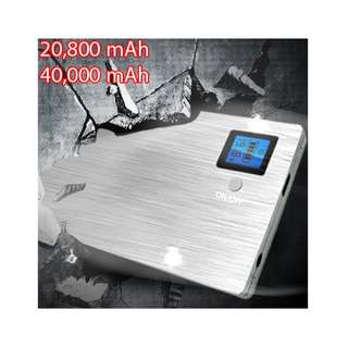QC 3.0 & Notebook Computer Power Bank (40,000mAh)