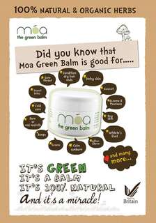 MOA Organic Balm