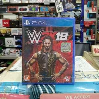🆕 PS4 WWE 2K18