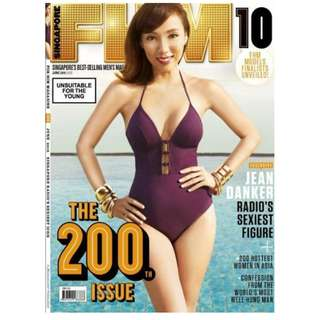 Hardcopy FHM Singapore - June 2015