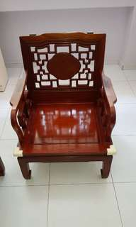 Antique Chair 3 seater +1+1