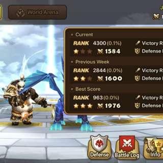 Summoners War Account