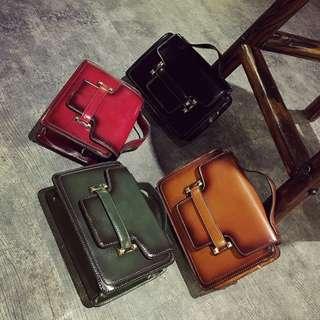 Classic sling purse