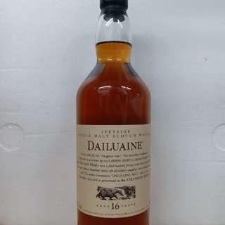 Dailuaine 大雲16y whisky 威士忌 700ml  冇盒
