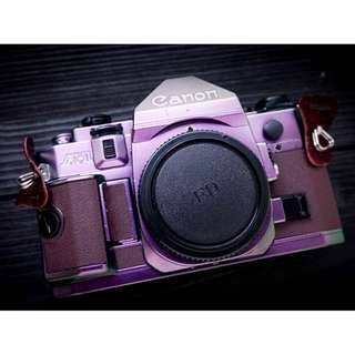 Canon A-1 with special painting