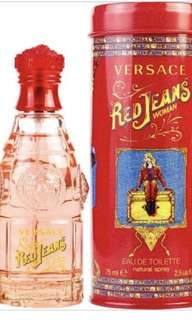 Versace Red Jean