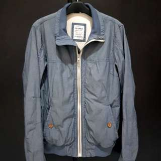 Pull&Bear - Casual Jacket Blue Denim (Size M)