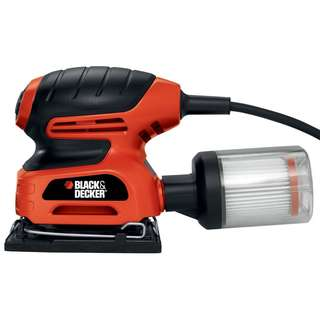 Black & Decker QS900 1/4-Sheet Sander with Filtered Dust Collection (110V)