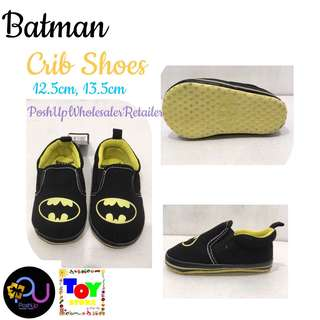 Batman Crib Shoes