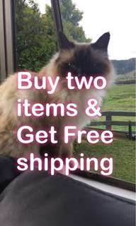 Buy two & get free shipping