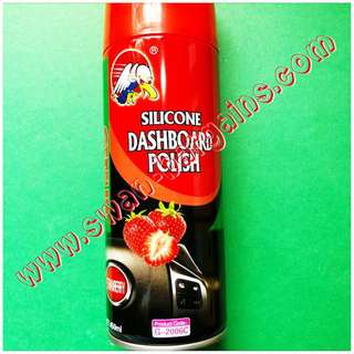 Instant Shine Non-Greasy Automotive Silicone Dashboard Vinyl Spray Wax For Car & Motorbike DIY Groomers