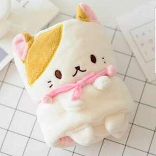 🐾🐈🐺可愛貓貓珊瑚氈