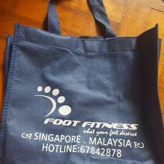 Foot fitness holder bag