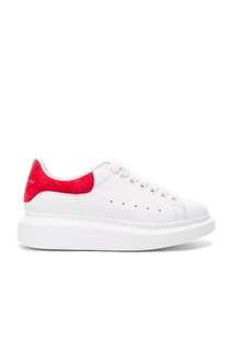 Two tone sneaker red and white
