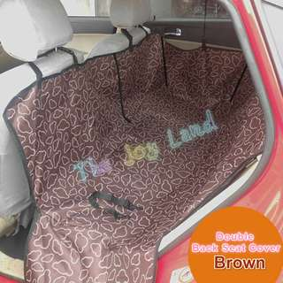 Waterproof Car Seat Cover (Double Back Seat)