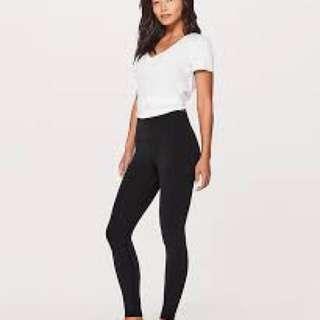 "Brand new Lululemon Align 28"" Size 4 Black colour pants"