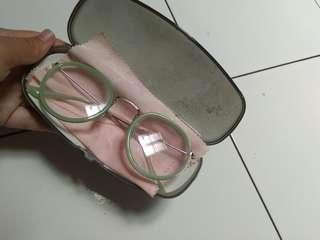 Kacamata green frame