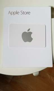 Apple shop card
