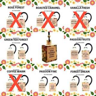 READY STOCK💕DE'XANDRA AIR FRESHNER/10ml.  Processing Proceed Upon Full Payment Received Via Bank Transfer