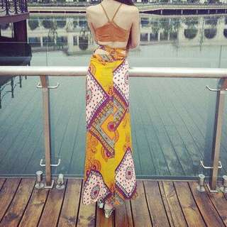 Bohemian dress dress
