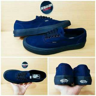 VANS AUTHENTIC BLUE BLACK (PREMIUM)