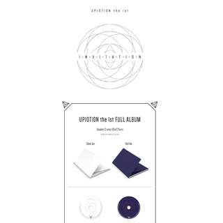 [PREORDER] UP10TION (업텐션) - 1TH ALBUM / INVITATION