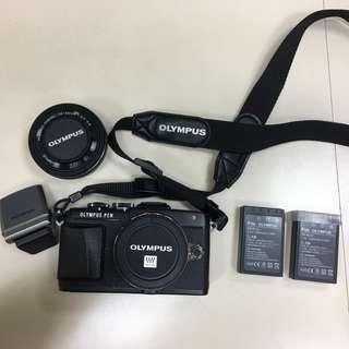 【久大御典品J32553】OLYMPUS E-PL7+14-42mm F3.5-5.6EZ 微單眼相機
