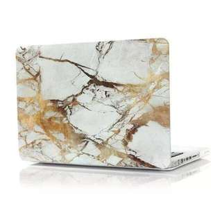 Marble Pattern Cover Protective Laptop For Apple Mac-book Pro 15.4 inch