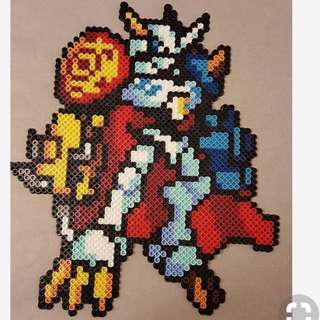 Digimon Hama Designs