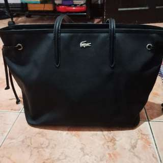 Lacoste womens concept large bag