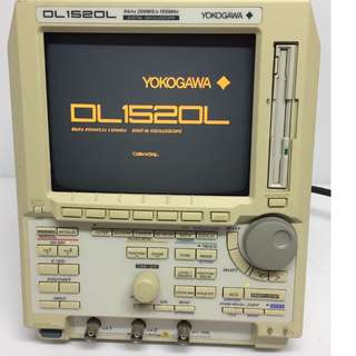 YOKOGAWA DL1520L 8 BITS 200 MS/s 150 MHZ DIGITAL OSCILLOSCOPE